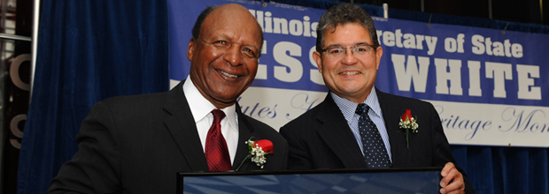 Jesse White Honors Illinois First Hispanic Federal Judge, Chicago Fire Commissioner and Others