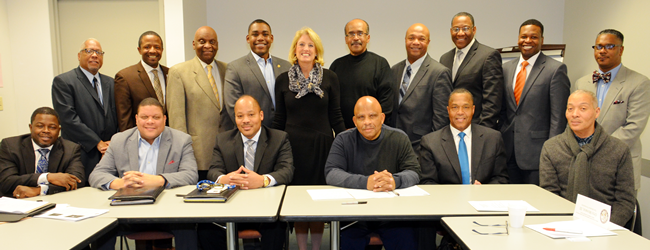 Comptroller Munger Meets With African American Advisory Board