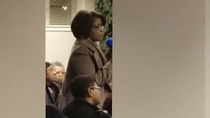 Linda Hudson, Concerned Citizen and Community Activist asking the right questions