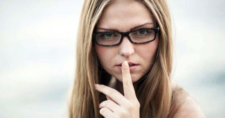 hush woman