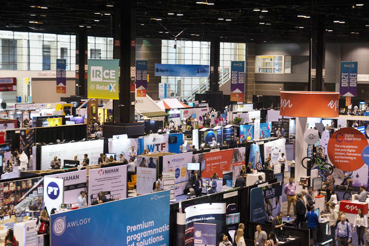 IRCE main floor