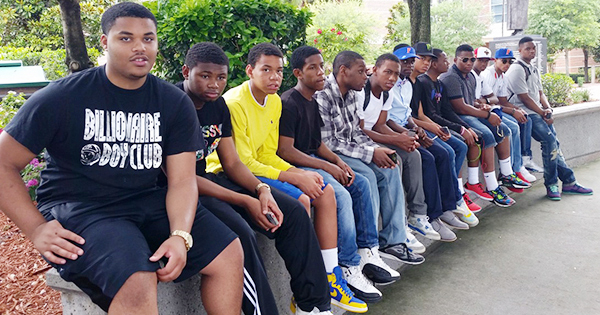 Black male students that have been helped in previous years