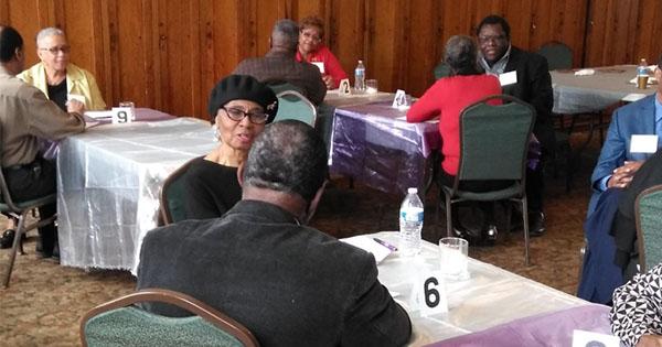 seniors dating event