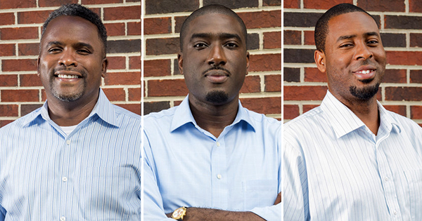 (left to right) David Sharp, managing partner; Tawruss Sellers, partner; and Michael Boulware, partner