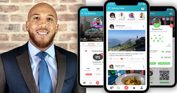 Darren Walker, founder of the BEAN Now app